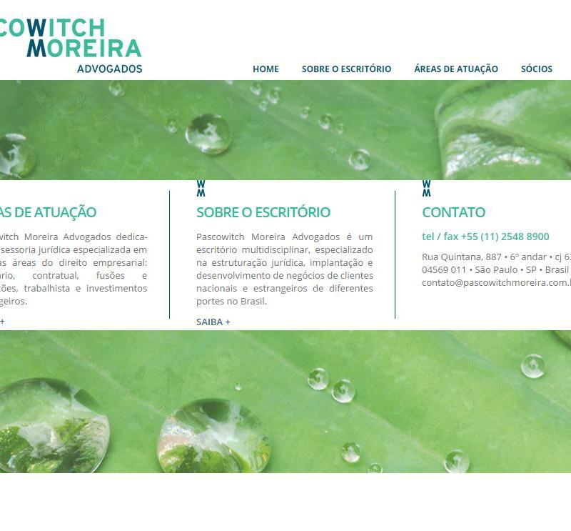 Criação de site para Advogados – Pascowitch