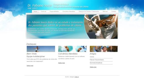 Criação de sites para Médicos Doutor Fabiano