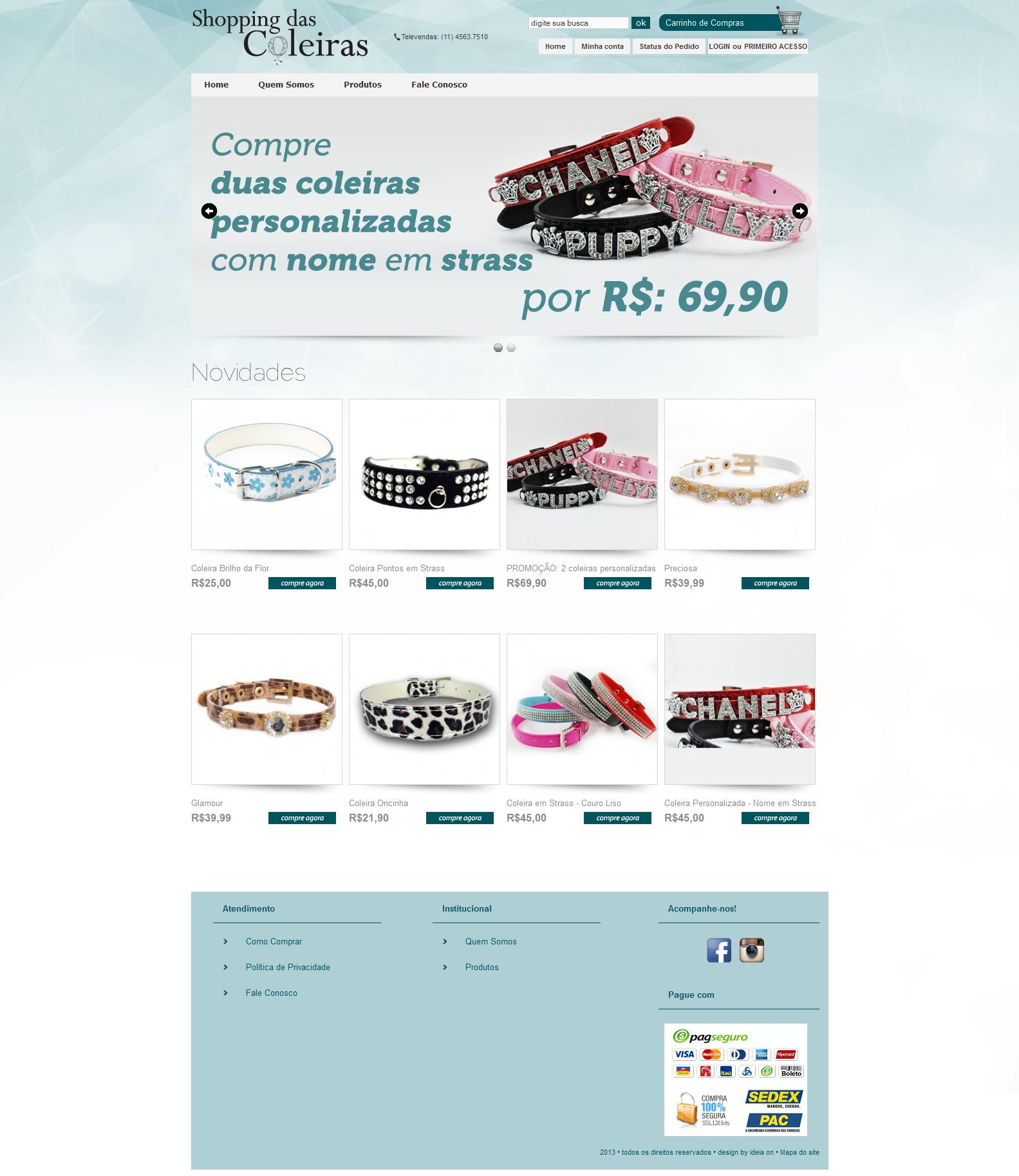 Shopping das Coleiras - Ecommerce